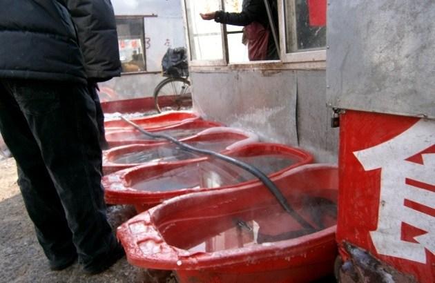 中国の魚市場