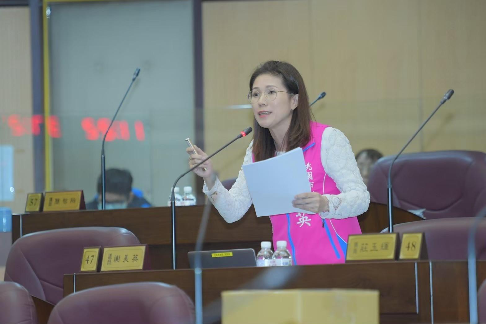 桃園市議員謝美英就職周年感想