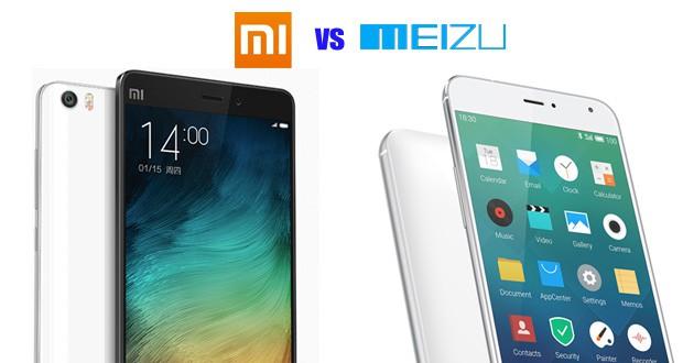 Meizu ou Xiaomi - o que é melhor?