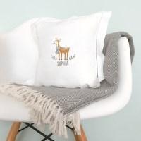 Personalized Deer Pillow - MejMej