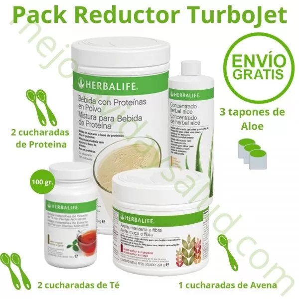 Pack Reductor TurboJet Grande