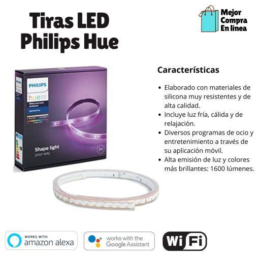 Tiras LED Philips Hue Lightstrip Plus