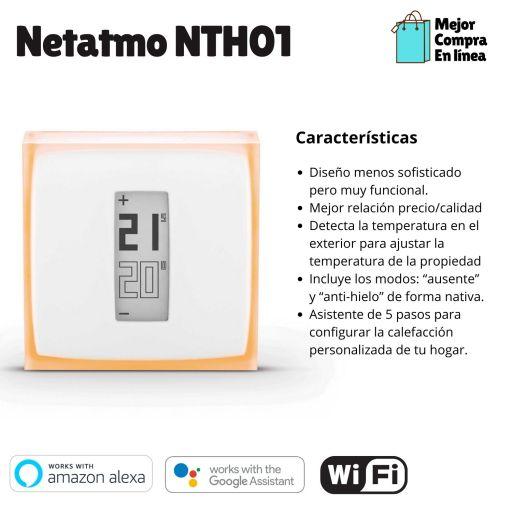 Resumen comparativo de Netatmo NTH01-ES-EC