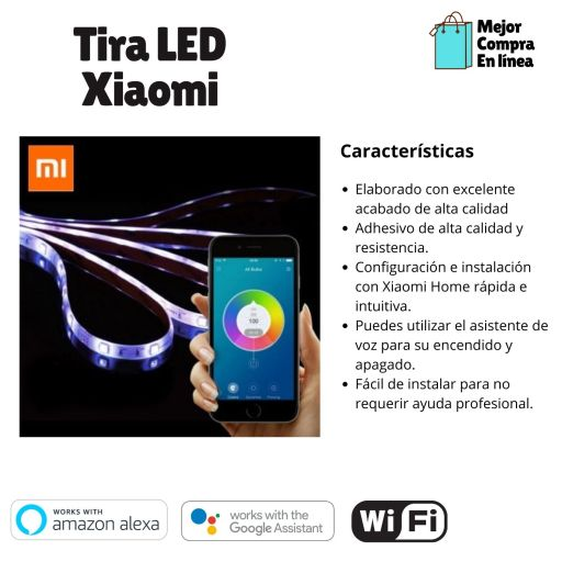 Comparativa Tiras LED Xiaomi Lightstrip Plus