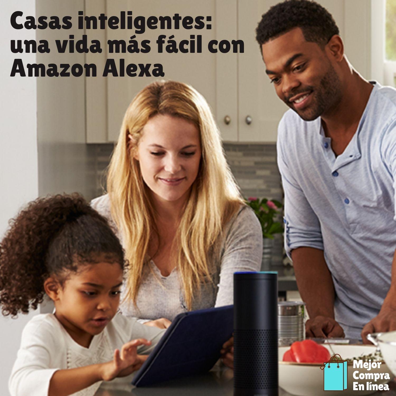 Casas inteligentes Amazon Alexa