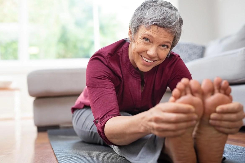 Ejercicio físico en adultos mayores.