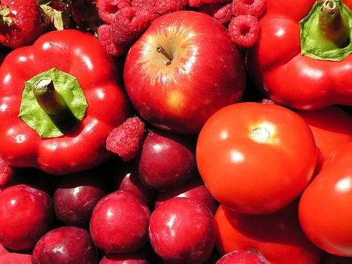 Resultado de imagen de alimentos rojos