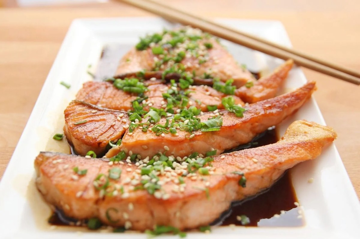 Salmón, alimento que aporta vitaminas del complejo B