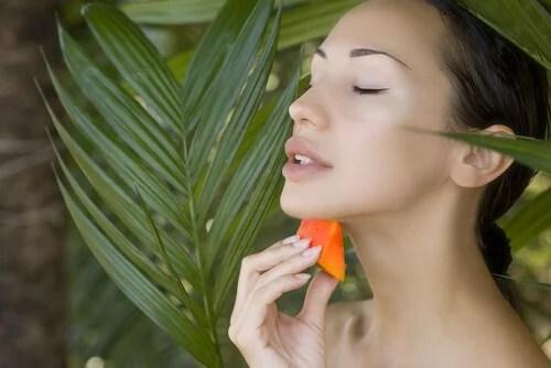 Tratamiento de papaya.