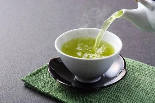 Remedio de té verde