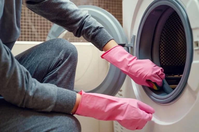 Un truco eficaz para quitar el moho de la goma de la lavadora ...