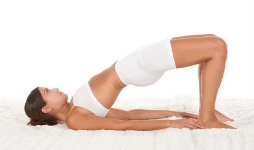 yoga pose puente