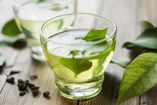 Té verde para calmar la indigestión