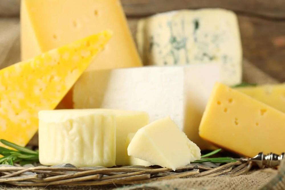 Los tipos de queso y su valor nutricional