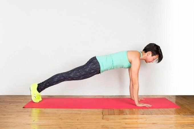 Plank corredizo para estar en forma sin salir de casa