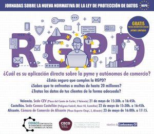 Jornada sobre el nuevo Reglamento General de Protección de Datos @ Sede  CEV
