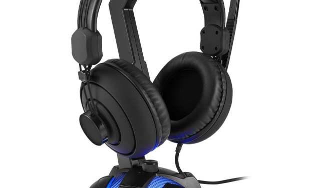 Sharkoon X-Rest 7.1: Soporte para auriculares con sonido 7.1