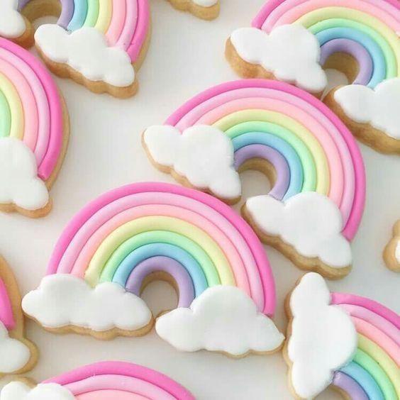 Galletas de arco iris