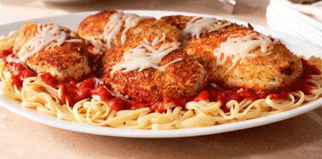 Pechuga a la Parmesana