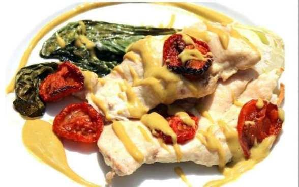 Pechugas de pollo al horno PAK CHOI
