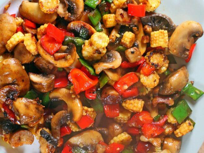 Salteado de verduras fácil