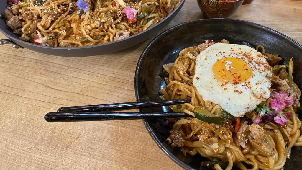 fideos coreanos Gochujang
