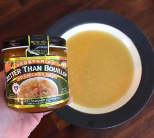 Sopa Pastina Vegana Italiana Con Mejor Que Caldo Sin Base De Pollo