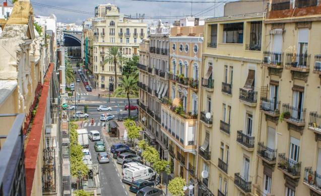 Mejores distritos para dormir en Valencia - Ensanche