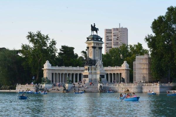 Parque del Retiro - Madrid, España