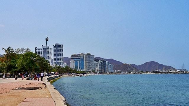 Mejores zonas donde alojarse en Santa Marta - El Rodadero