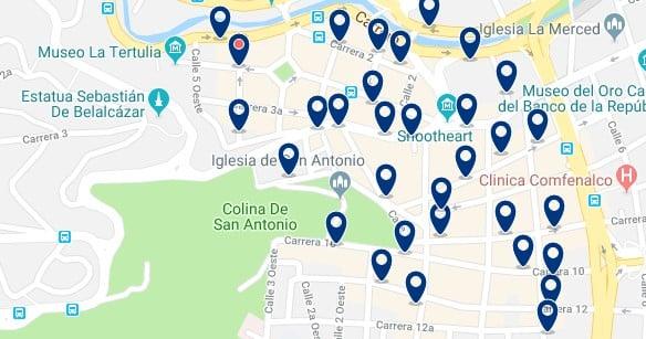 Alojamiento en el Occidente de Cali - Haz clic para ver todo el alojamiento disponible en esta zona