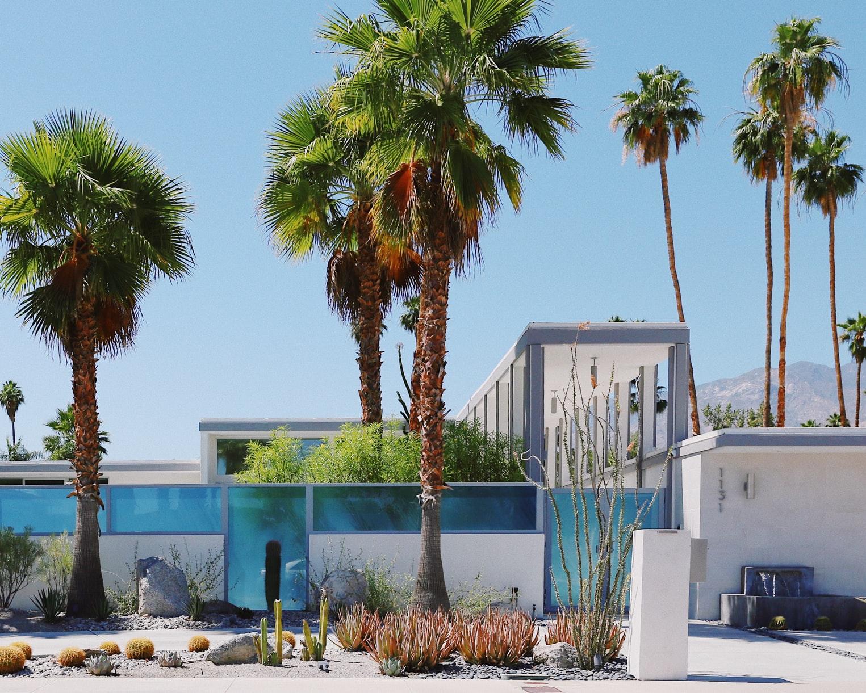 Las mejores zonas donde alojarse en Palm Springs, California