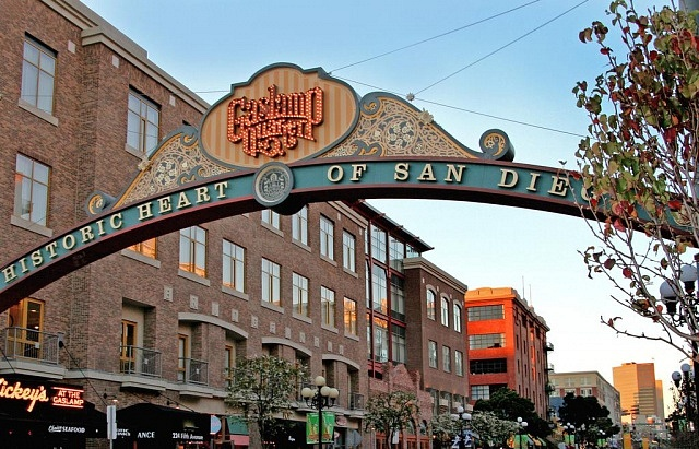 Best areas to stay in San Diego - Gaslamp District