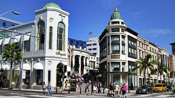 Dónde alojarse en los Ángeles- Beverly Hills