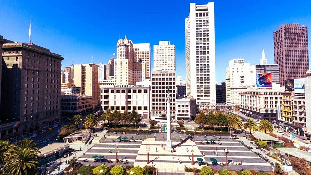 Best areas to stay in San Francisco - Union Square