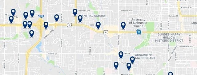 Alojamiento cerca de University of Nebraska - Haz clic para ver todo el alojamiento disponible en esta zona