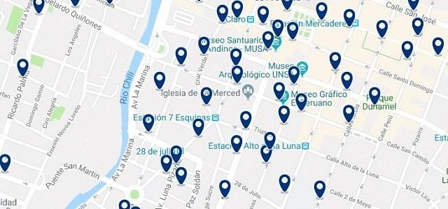 Alojamiento en Centro Histórico Arequipa - Haz clic para ver todo el alojamiento disponible en esta zona