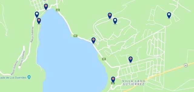 Alojamiento en Lago Gutiérrez - Haz clic para ver todo el alojamiento disponible en esta zona