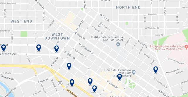 Alojamiento en North End – Haz clic para ver todo el alojamiento disponible en esta zona