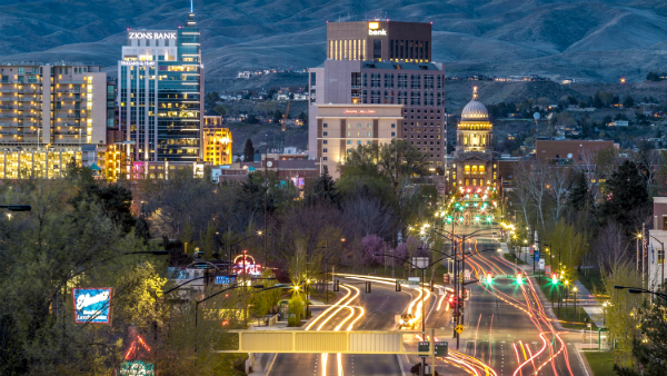 Dónde alojarse en Boise – Downtown
