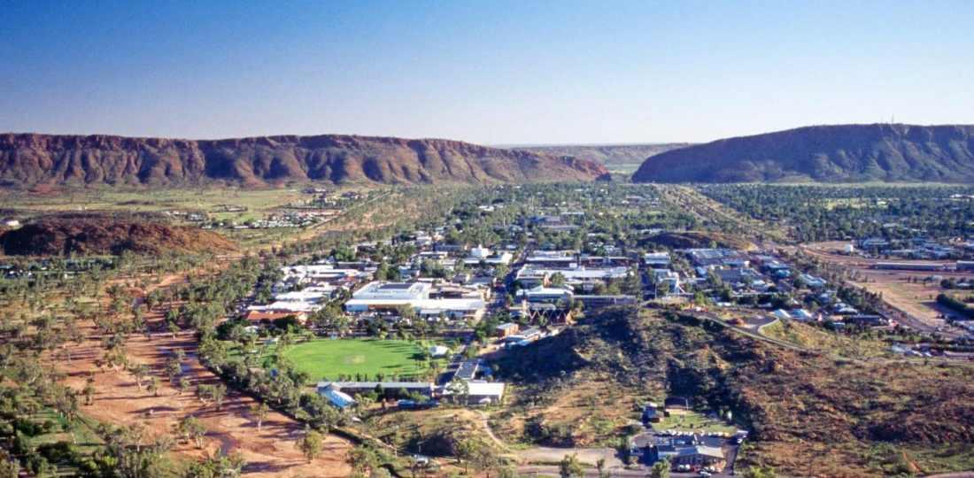 Mejores zonas donde alojarse en Alice Springs, Australia
