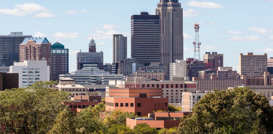 Mejores zonas donde alojarse en Des Moines, Iowa