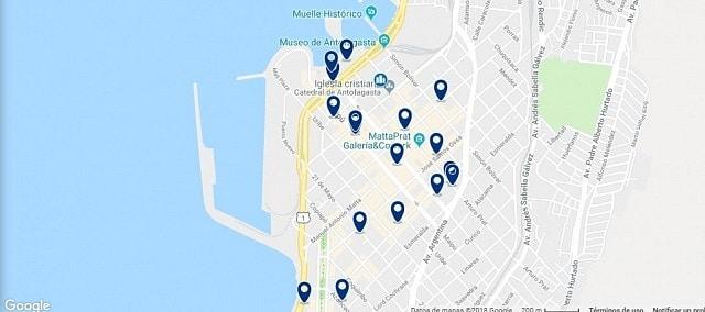 Alojamiento en Antofagasta Centro - Haz clic para ver todo el alojamiento disponible en esta zona