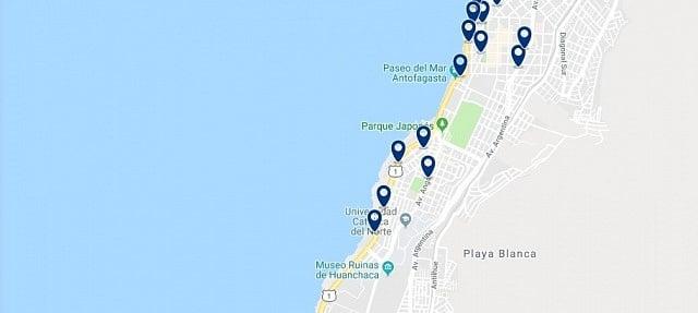 Alojamiento en Antofagasta Sur - Haz clic para ver todo el alojamiento disponible en esta zona
