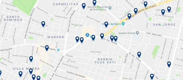 Alojamiento en Asunción Nordeste - Haz clic para ver todo el alojamiento disponible en esta zona