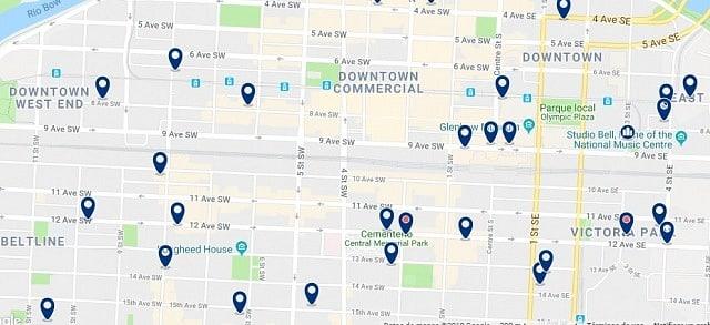 Alojamiento en Downtown Calgary - Haz clic para ver todo el alojamiento disponible en esta zona
