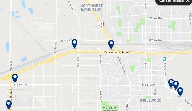 Alojamiento en Edmonton Northwest - Haz clic para ver todo el alojamiento disponible en esta zona