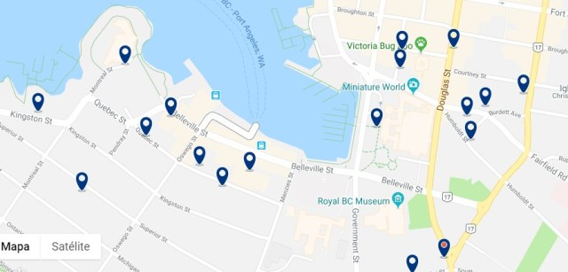Alojamiento en James Bay - Haz clic para ver todo el alojamiento disponible en esta zona