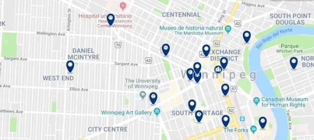 Alojamiento en Winnipeg City Centre - Haz clic para ver todo el alojamiento disponible en esta zona