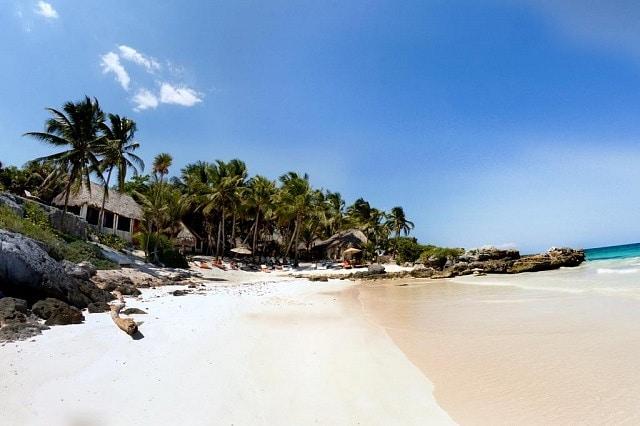 Dónde hospedarse en Tulum - Playa Paraíso